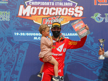 Exceptional performance for Lapucci at the Prestige Italian Championship and Osterhagen in the 125cc