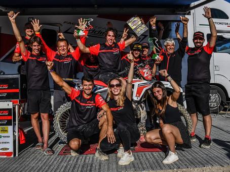 Nicholas Lapucci and Fantic Factory Team Maddii are MX2 Italian Champions