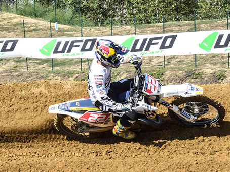 GIANLUCA FACCHETTI IS THE ITALIAN 125CC CLASS CHAMPION WITH THE TEAM MADDII RACING-HUSQVARNA