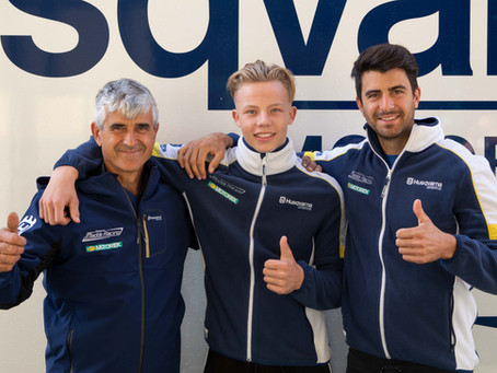 The Dutch rider Raf Meuwissen with Team Maddii Racing Husqvarna for the 2019 season