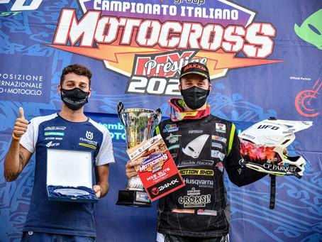 Italian MX Prestige Championship Ponte a Egola, Guadagnini is Italian champion 2020.