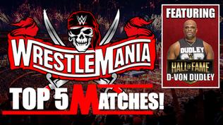 Top 5 WWE WrestleMania Matches