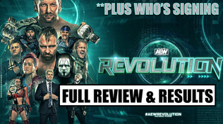 AEW Revolution 2021 Full Review & Results
