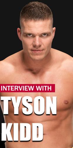 Tyson Kidd Interview