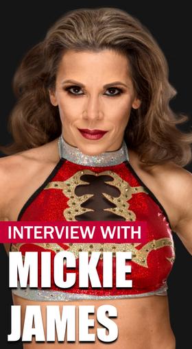 Mickie James Interview