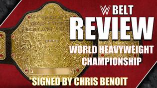 WWE World Heavyweight Championship Belt Review