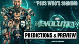 AEW Revolution 2021 Predictions & Pre-Show