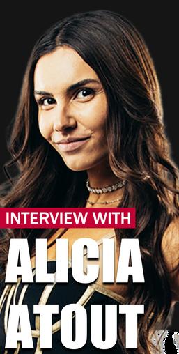 Alicia Atout Interview