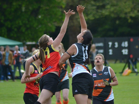 Celebrating 5 years of women's footy