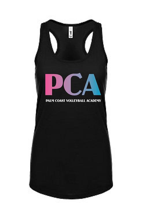 PCA Womens Black Tank