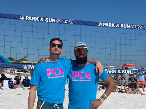 PCA Blue and Pink Tee