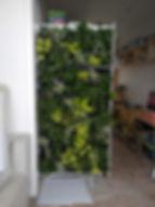 interieur groene gevel