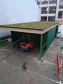 carport groendak