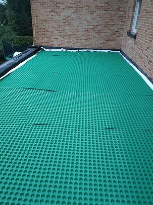 groendak drainage