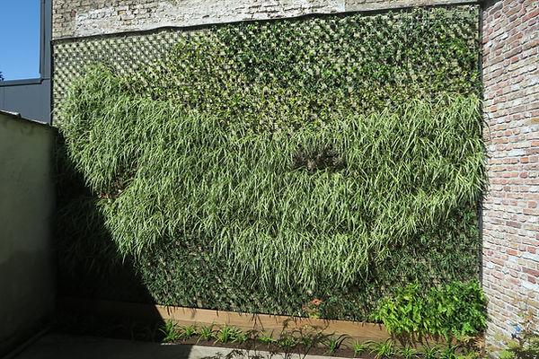 groene gevel