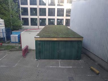 carport met groendak