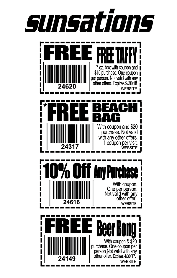 sunsations coupons