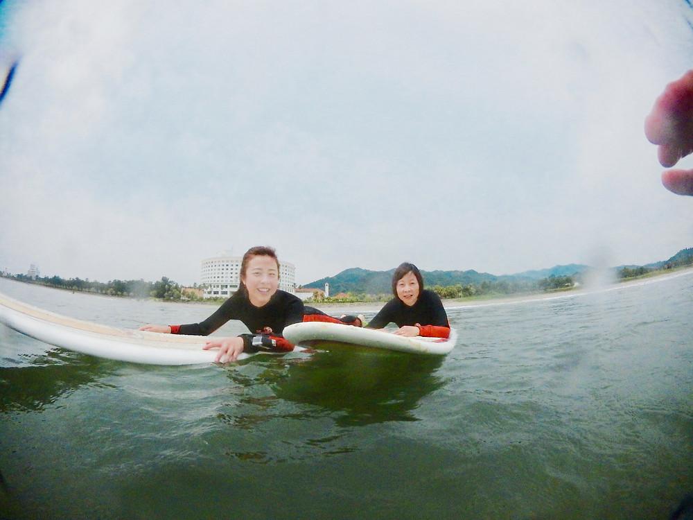 HONG KONG  Miyazaki surfing