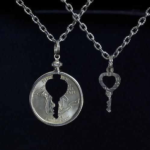 Heart Key #4 - Inlay Set
