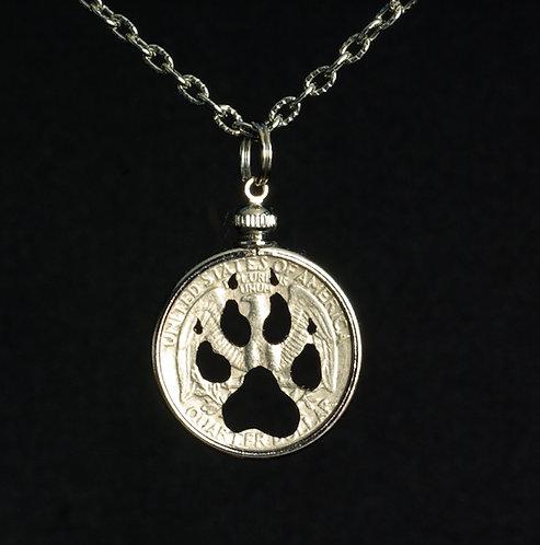Wolf Paw Print