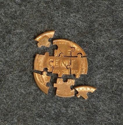 Penny Puzzle (9 pieces)