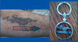 Wile E. Coyote Tattoo