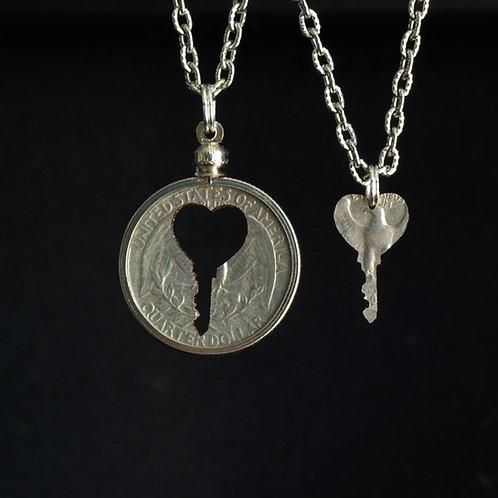 Heart Key #1 - Inlay Set
