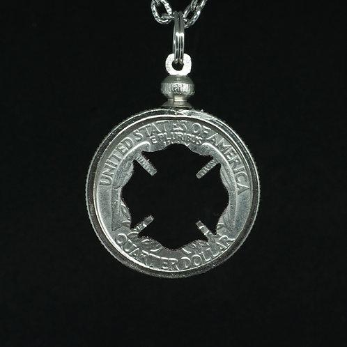 Maltese Cross 1 - Firefighter logo