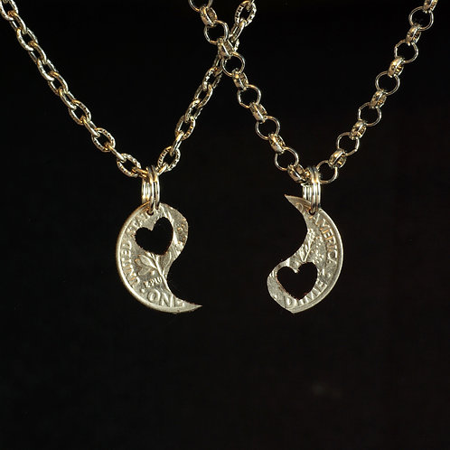 Yin Yang Hearts - Interlocking Set