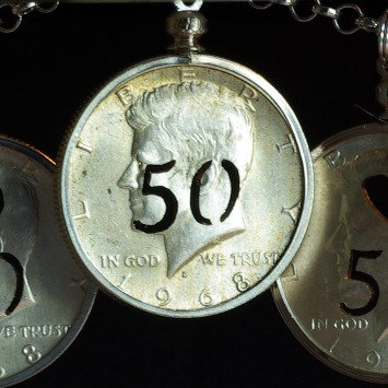 Anniversary Coin - 2 Numbers
