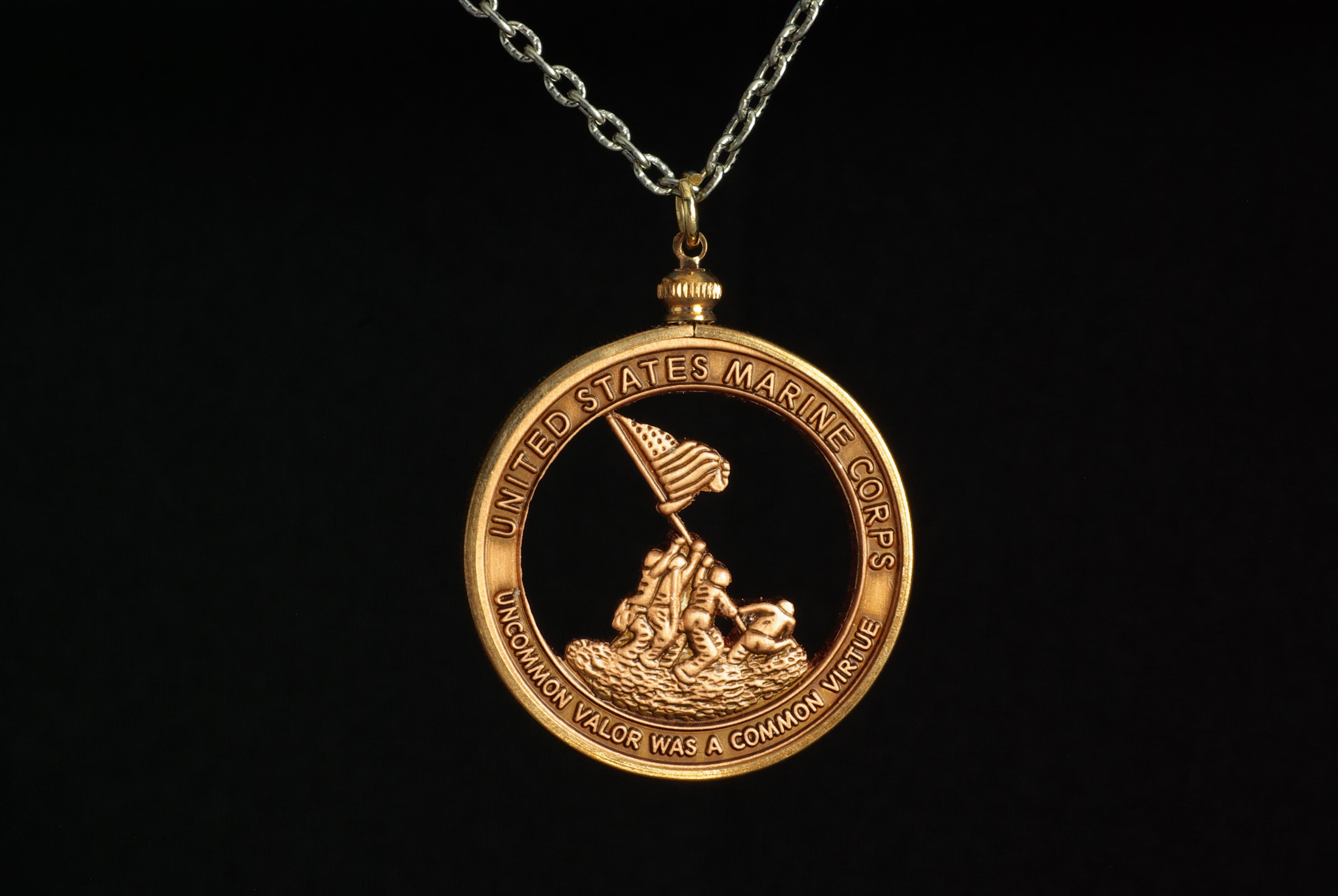 Iwo Jima Challenge Coin