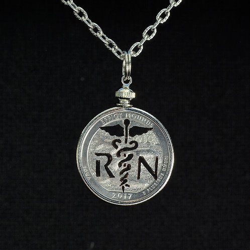 Medical Cross - Caduceus - with letters