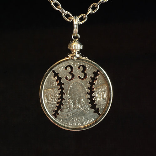 Baseball - with Initials