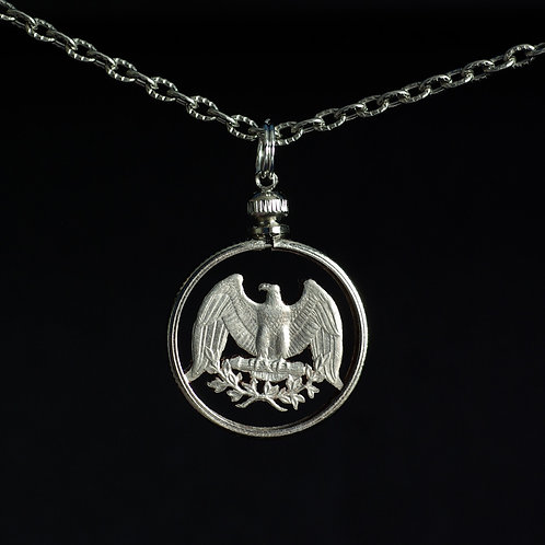 Silver Eagle #1 - Washington Quarter