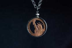 Copper Presidential Coin