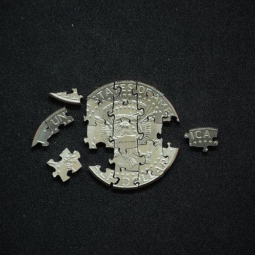 Half Dollar Puzzle (21 pieces)