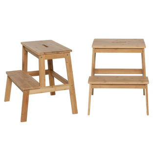 Small Light Wood Step Ladder