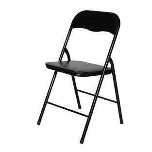Foldaway Black Chair
