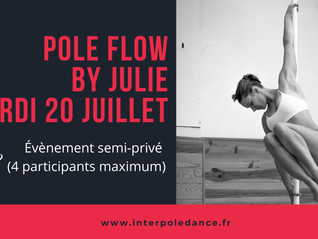 Pole Flow by Julie en Petit Groupe