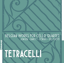 CD Tetracelli Belgian works for cello qu