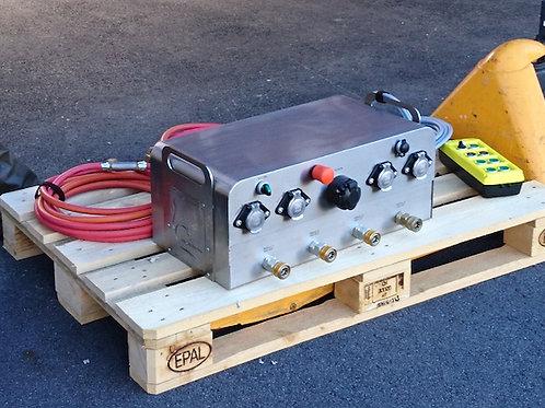 steuergerät CCA for FOUR für 4 module der firecasesystems oder volcan modulreihe