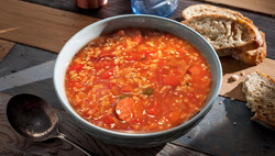 Chicken Red Rice Soup