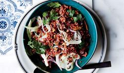 Black Bean Red Rice Salad