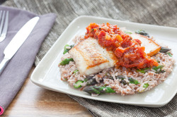 Asparagus & Red Rice