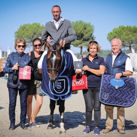Fleuron Landai Champion de France 4 ans