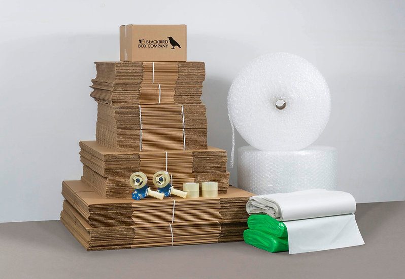 XL Home Moving Box Bundle - 4000 Sq Ft
