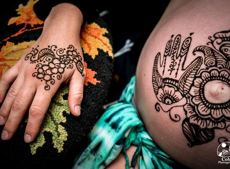 Celebrate Your Pregnancy with  Henna