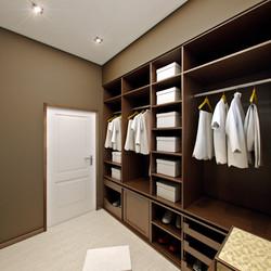 Interior of cloakroom