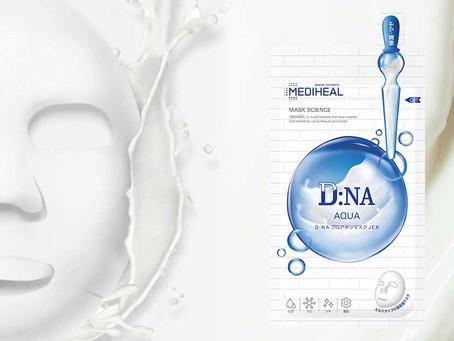 美容液で作られたミルクタイプのテクスチャー。 19種類の美容成分配合保湿力に優れたシートマスク