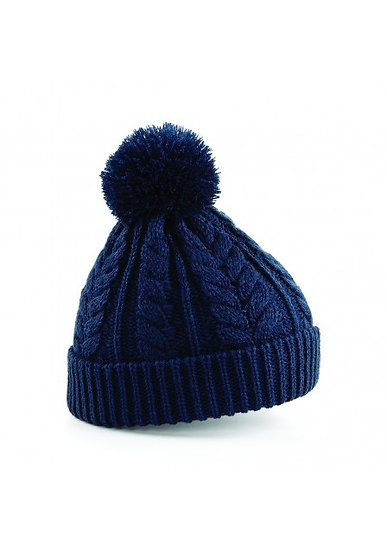 Flying Fox Cable Knit Bobble Hat
